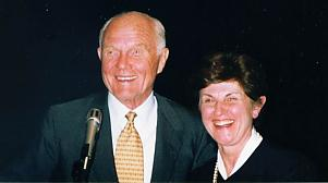 John Glenn and Joan Vernikos